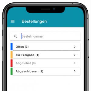 odermanager - App Bestellungen Archiv