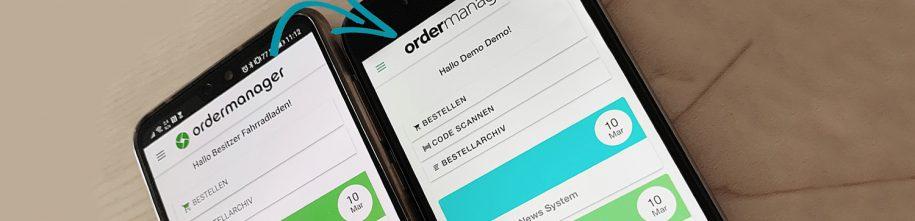 ordermanager-app-update-august-bericht