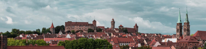 Skyline Nuernberg - Burgblick